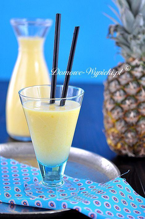 Smoothie z mango i ananasem