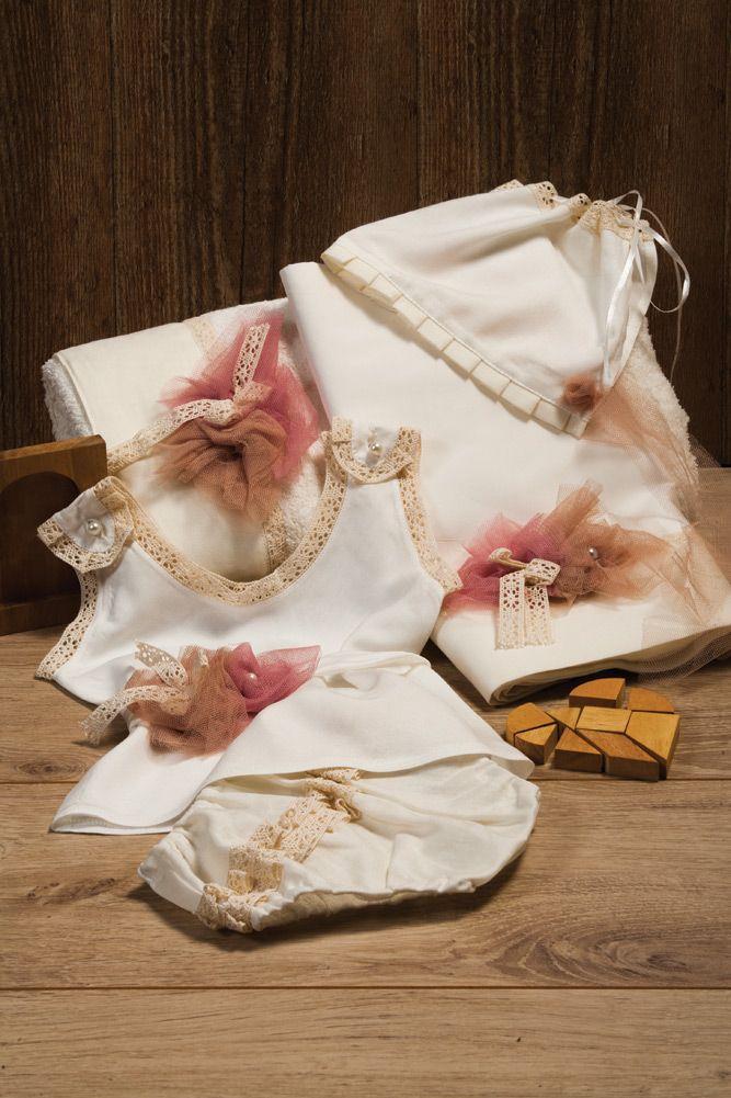 Vintage Elegance  #baptism #christenings #baptismal #kids #firstbath #babygirl
