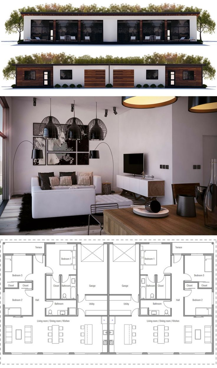 1000 ideas about duplex house plans on pinterest family. Black Bedroom Furniture Sets. Home Design Ideas