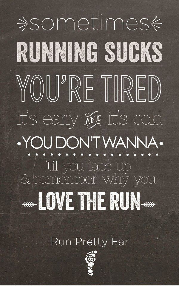 Running:  I have been a runner for sixteen years!  I love the feeling of exhilaration, exhaustion, and accomplishment after a good run.