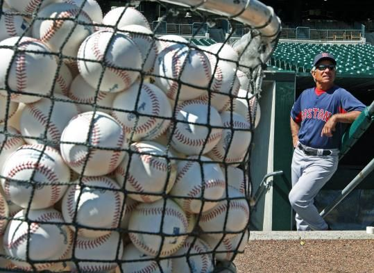 Red Sox manager Bobby Valentine oversaw a final workout before Thursday's opener in Detroit.