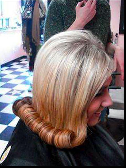 Cute Flip The Old Styles Bouffant Wetset Hair Hair