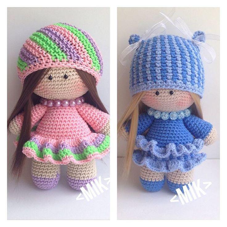 #продаются#куколки#амигурами#купитькуклу#handmade#knitsweater#knitstagram#knitting#knit#амигурумикуклы#ручнаяработа#блондинка#брюнетка