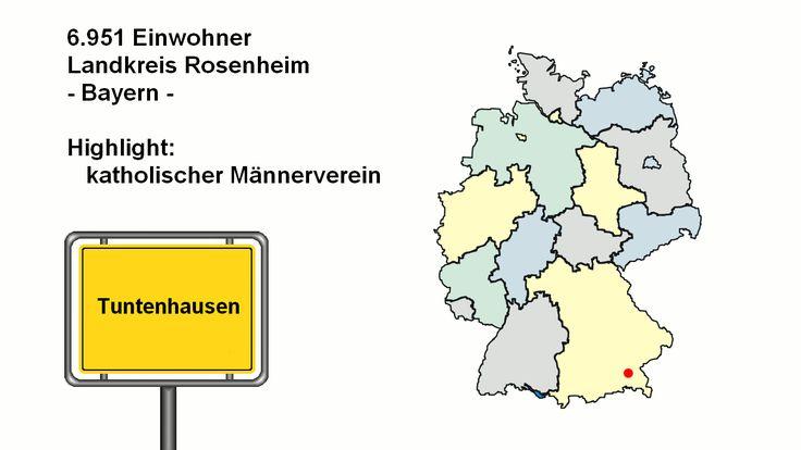 lustige Ortsnamen aus ganz Deutschland