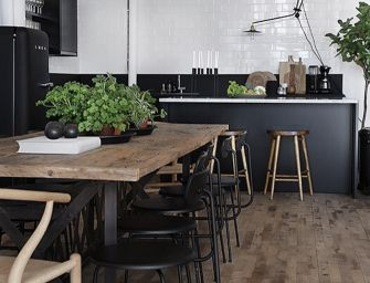 Het gebruik van zwart in de keuken: lekker veel contrast