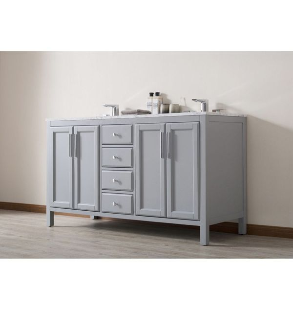 Marvelous Stufurhome Sy 900G 59 555Ch 59 In Bathroom Vanity Download Free Architecture Designs Rallybritishbridgeorg