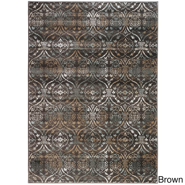 Admire Home Living Plaza Brazil Area Rug