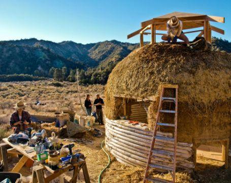 Earthen Shelter - Home