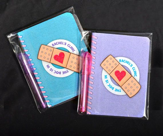 Doc McStuffins Party Favors - Big Book of BooBoos, packaged with cute mini pen - 2 Books Per Order