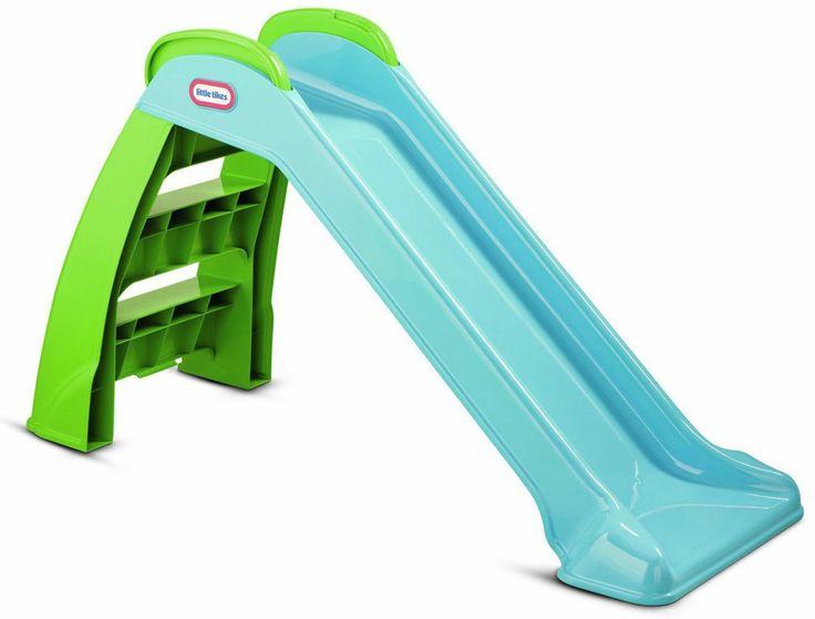 Little Tikes Rutsjebane – et skønt legetøj med mulighed for masser af aktivitet for de mindre børn. Her kan de både lære balance og motorik mens de har det skægt.<br><br>Rutsjebanen er tilpas høj og stabil med afrundede kanter. Den er desuden let at folde sammen,  og den duer lige godt udenfor som indenfor. <br><br>Anbefalet alder: Fra 2 år.<br><br>Mål: 122 x 49 x 70 cm<br><br>Vægt: 3.2 kg.<br><br>Farve: Blå<br><br><b&...