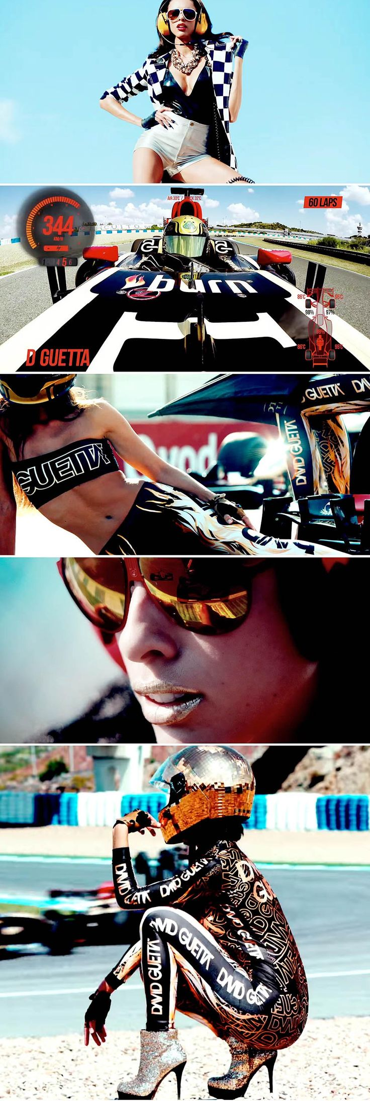 A bit of eye candy from #DavidGuetta's dramatic track showdown with #F1 driver, Romain Grosjean #Dangerous: http://www.creation.com.es/david-guetta-dangerous-ft-sam-martin/