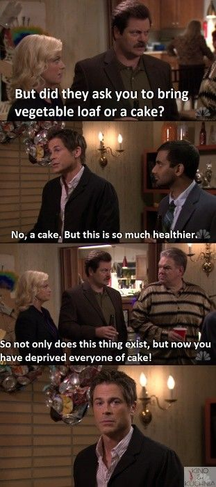 How dare Chris deprive everyone of cake?!