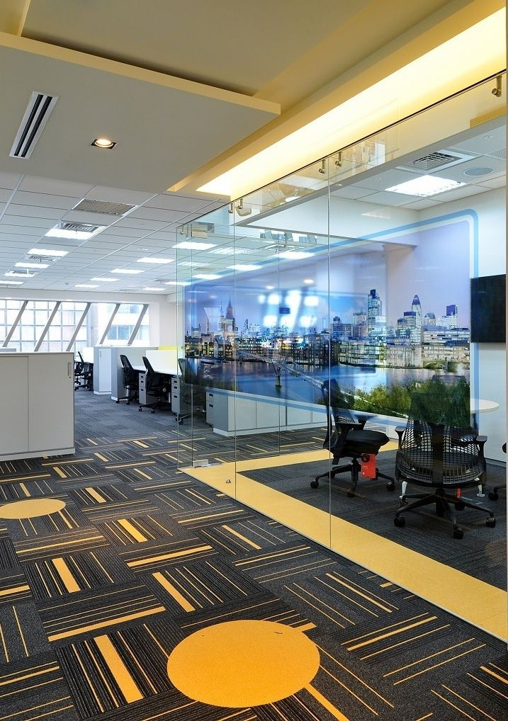 Office Tour Insurance Company S Offices Taipei Floor Design
