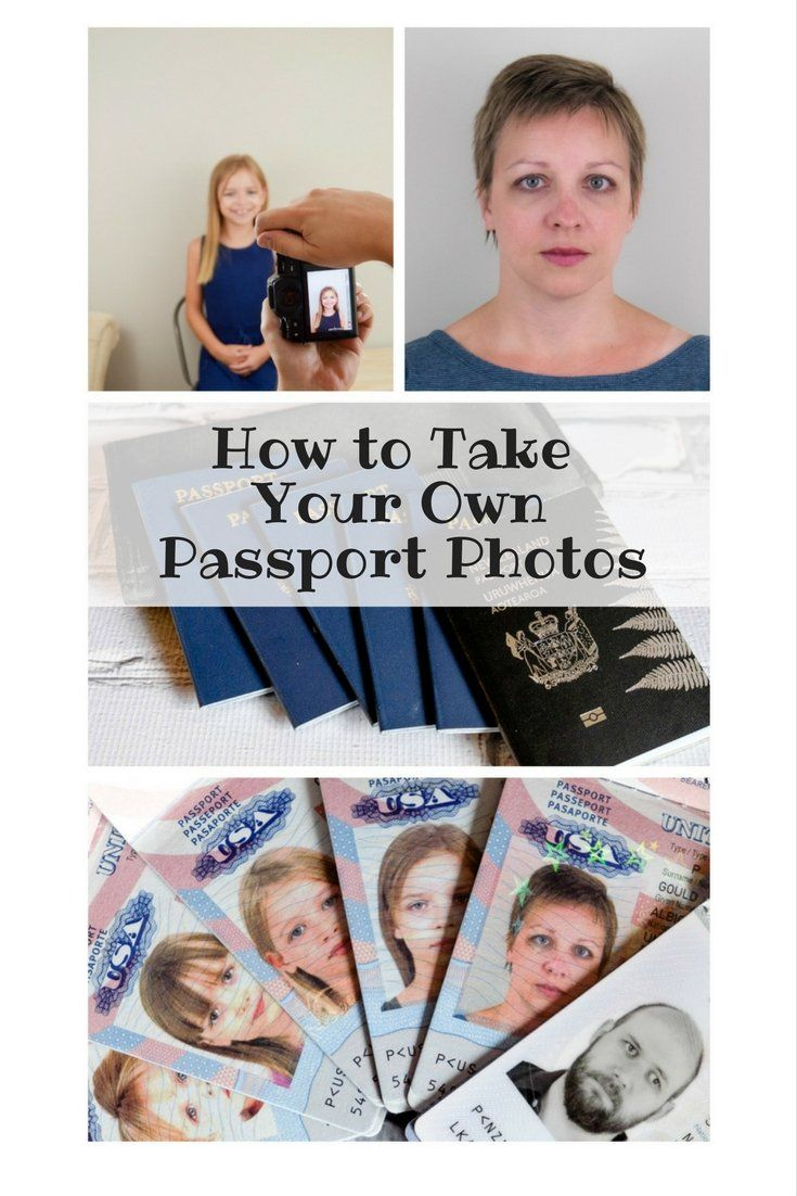 Learning how to take your own passport photos can be a time and money saver with these easy tips!