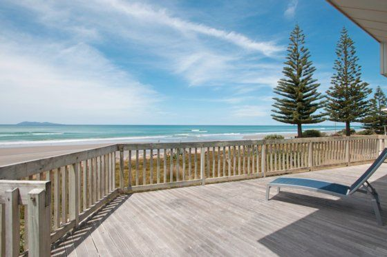 View from the deck - Waihi Beach bach or holiday home $2600 for 6 nights
