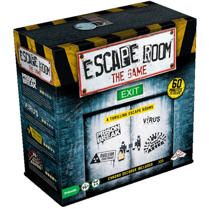 Welcome to Escape Room The Game by Identity Games. Feel the thrill and enjoy the mystery from a escape game in your own home! As in the case in many Escape Rooms across the world, you are