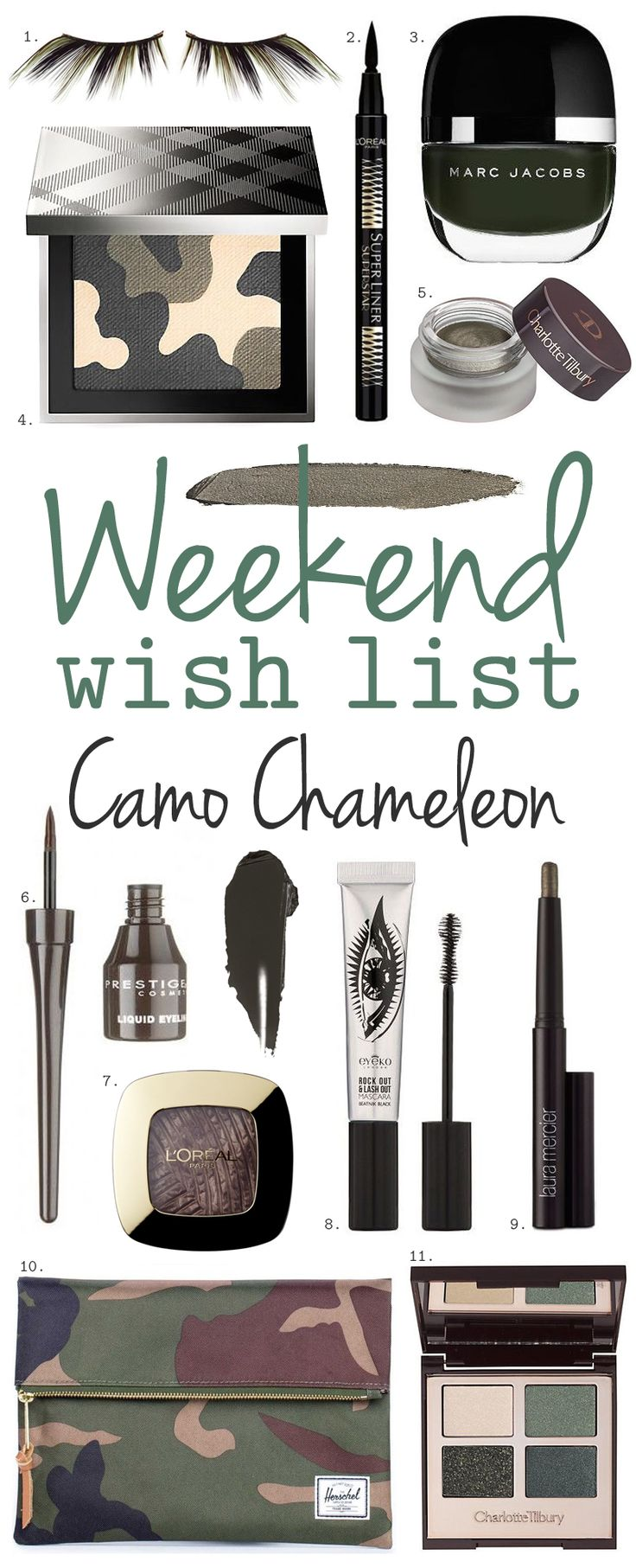 Khaki and camo beauty buys | The Little Beauty Guide