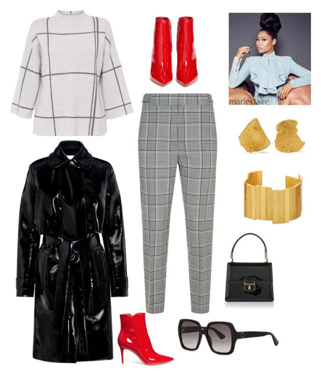 """""""Untitled #435"""" by ericap61720 ❤ liked on Polyvore featuring L.K.Bennett, Alexander Wang, Carven, Gianvito Rossi, Gucci, Dolce&Gabbana, Nicki Minaj, Alighieri and Stephanie Kantis"""