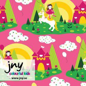 JNY Organic Unicorn Jersey knit by JerseyJollies on Etsy