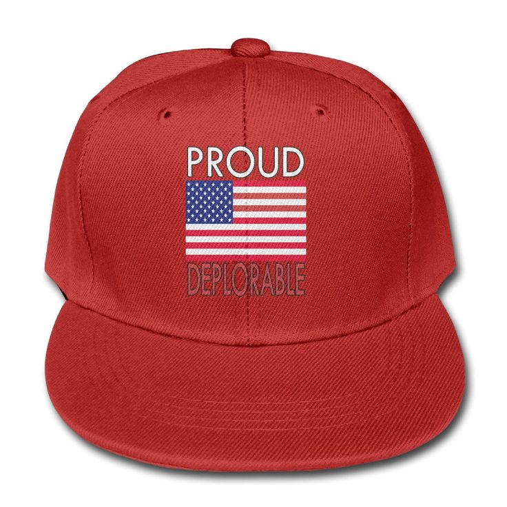 PROUD HL Unisex Basket Of Deplorable Hip-Hop Baseball Hats Red. Matrial: Cotton. Hand Wash. Adjustable. One Size. Welcome To My Store,There Have Many Products You Can Choose,For Clothing,Outdoors,Home Kitchen.