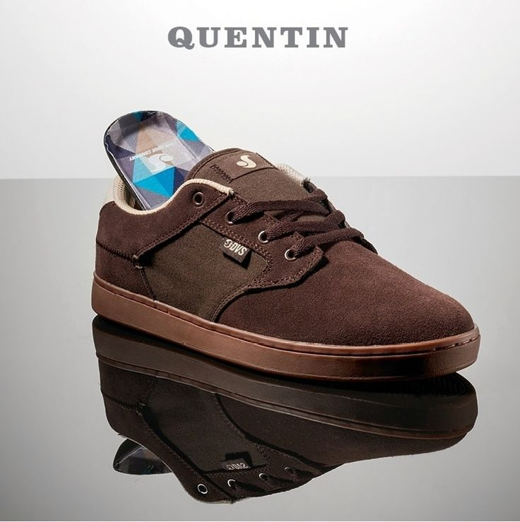 DVS Shoes, DVS Quentin Chocolate Suede