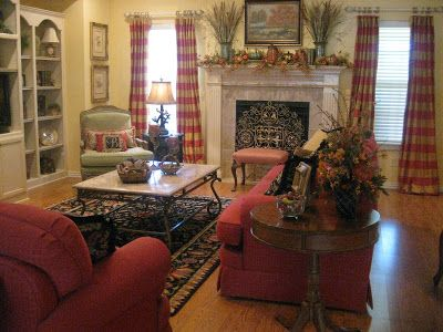 Kristen S Creations Fall Living Room Tour