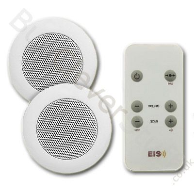 "KB Basic 2"" Ceiling Radio for Bathroom and Kitchen - KB Sound"