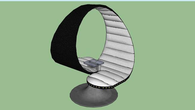 Silla Abrazo, Hug Chair - 3D Warehouse