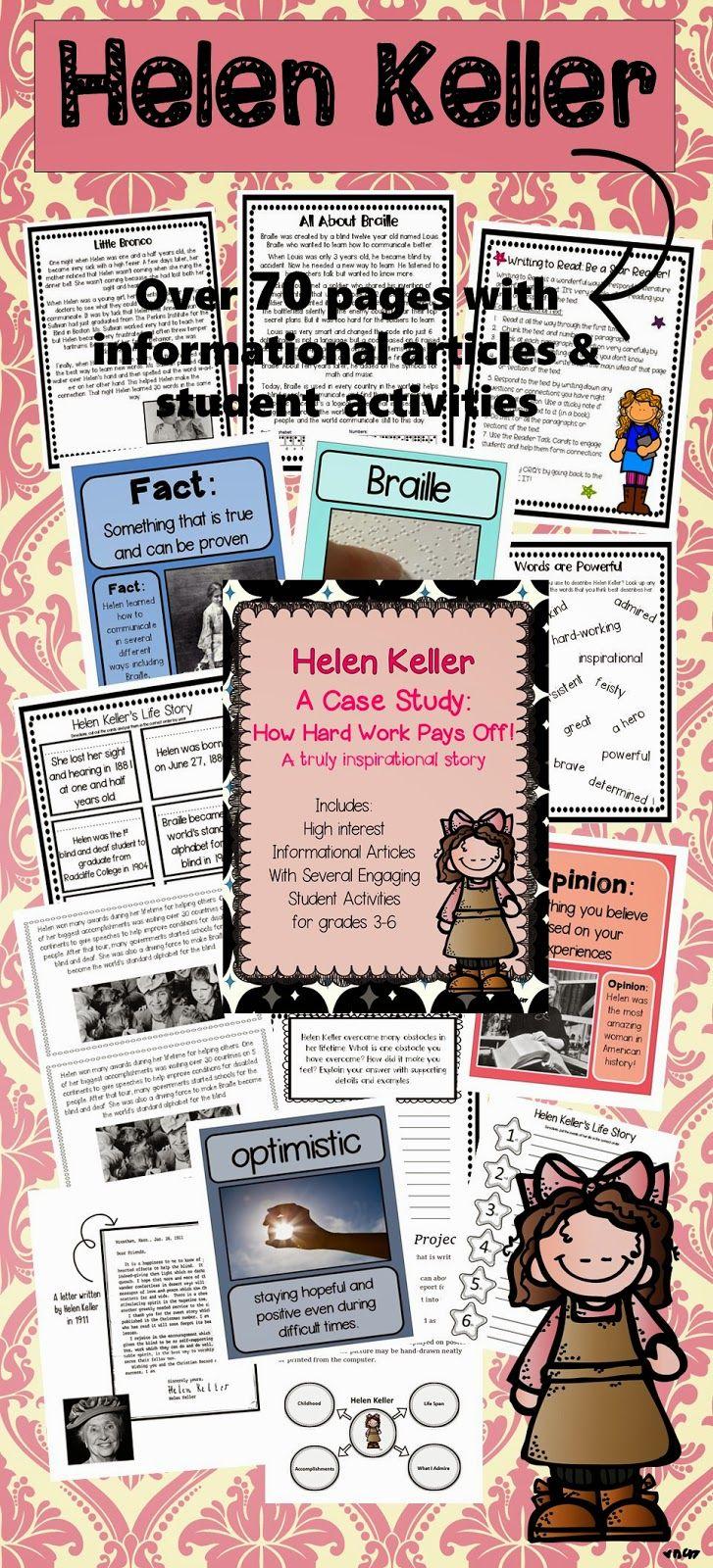 helen keller s heroic journey My personal hero: helen keller i have always been taken by the books of helen keller, for when she had the opportunity to recount her life's journey.