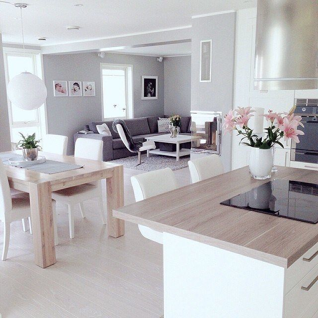 Modern Living Room Kitchen best 25+ open plan living ideas on pinterest | kitchen dining