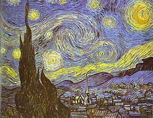 Dit Is Het Kunstwerk Sterrennacht Van Vincent Van Gogh