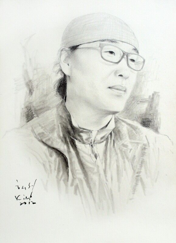 연필 스케치 ㅡ 일천 사부