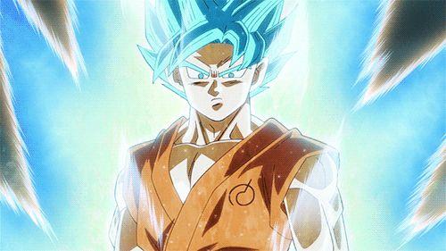 Super Saiyan God Super Saiyan Goku - Dragon Ball Z: Resurrection of F