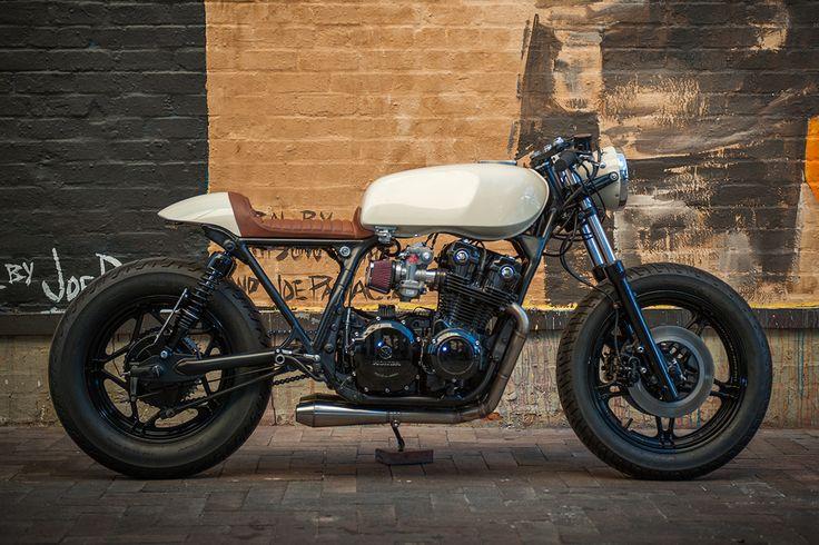 Start up cycle - Brogue CB750 Nighthawk via returnofthecaferacers.com