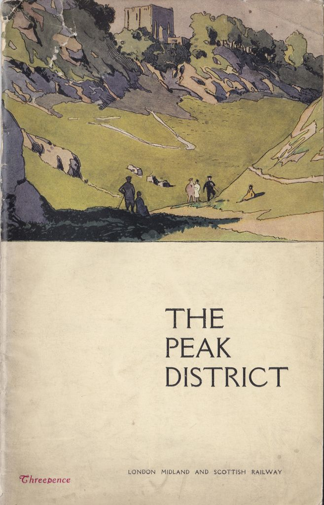 https://www.flickr.com/photos - London Midland & Scottish Railway - The Peak District holiday guide 1926 .