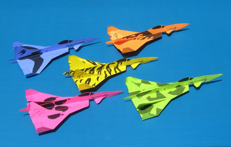 Built to mimic designs of the Stealth Bomber, F-15 and other fighter jets, the Speed Jet is a papercraft glider that'll launch paper gliders to new heights.