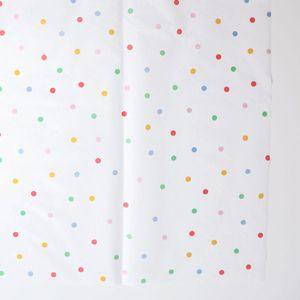 nappe en papier à pois multicolores Meri Meri