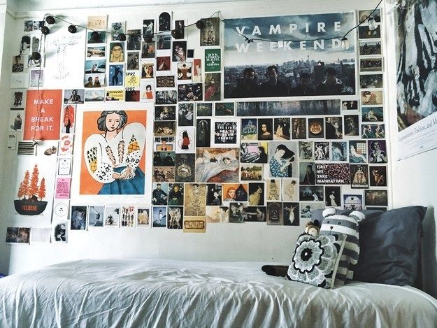 This actual magnum opus of a wall. | 14 Amazing Dorm Rooms That'll Make You Hate The Dungeon You Call Home