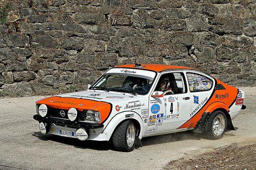 """OPEL  KADETT GTE """" 4 Rally HISTORIC  VALSUGANA """""""