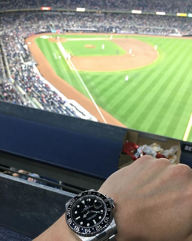 REPOST!!!  My submission for @watchfy theme of the week, WATCH YOUR SPORT is my first baseball game tonight... WOW, what a game and a great atmosphere ⚾️. NY Yankees vs Baltimore Orioles #watchfy…