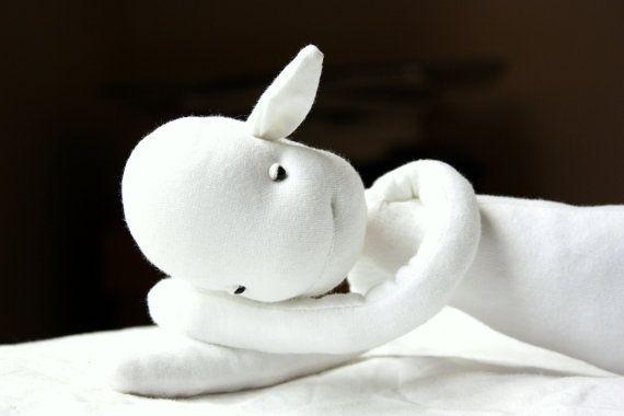 Fumble handmade OOAK plush doll by LunateAndTheMermaid on Etsy