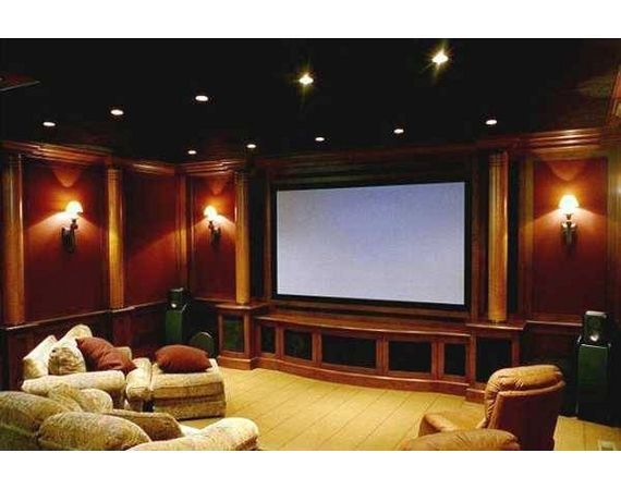 how to turn a garage into a movie room