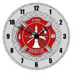 Firefighter Clock New