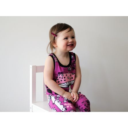 Gifts :: For Kids & Babies :: Organic Cotton Romper | Moss Path