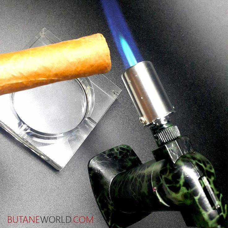 Pick up the perfect Cigar Torch Lighter  Lowest Prices Guaranteed Free Shipping. ButaneWorld.com  #behike #edicionlimitada #botl #sotl #smoking #cohiba #cigaraficionado #cigaroftheday #cigarsmokingmodel #cigarsociety #luxury #luxurylife #cigarlover #cigarsnob #cigarsmoking #montecristo #whatusmenlike #cigar #cigars #cigarlife #cigarporn #newportbutane #butane #ashtray #kitchentools #cigarlighter #cigartorch #valentinesgift #valentinesday #feb14
