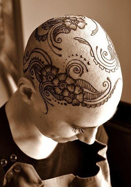 henna tattoo | head tattoos