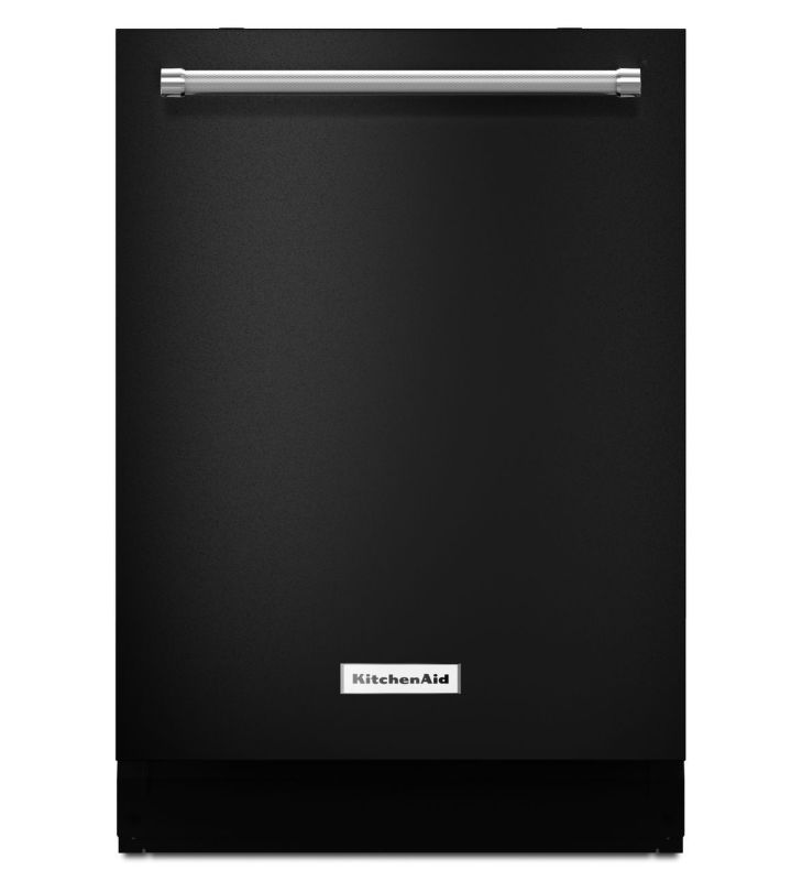 KitchenAid KDTE254E 24 Inch Wide Energy Star Rated Dishwasher with ProScrub and Black Dishwashers Dishwasher Built-In