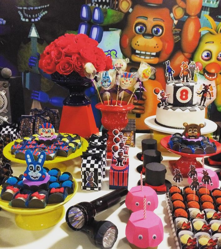 Ideas, decoración y manualidades para fiestas: Five Nights at Freddy's fiestas (3ra parte)