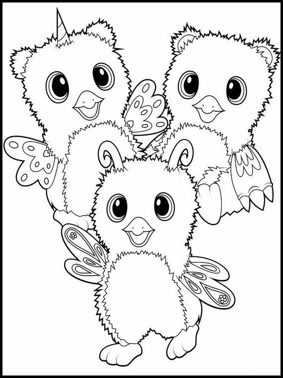 Coloriage Dessins A Imprimer Pour Les Enfants Hatchimals 8 Con