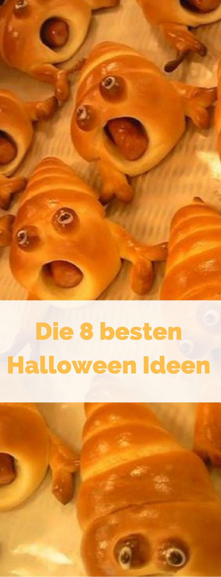 Halloween Essen - gruselig genug kann es da ja nie zugehen. Was haltet ihr von diesen schreienden Hörnchen mit Wurstfüllung? Die sind doch ein Kracher, oder?